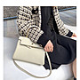 H小姐愛亂買-獨家高級感定製女包 新款32cm Kelly時尚奶昔白金扣凱莉包潮Bolide Picotin包