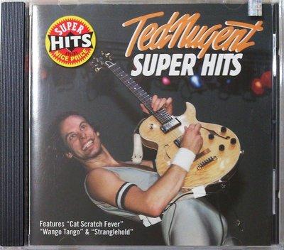 Ted Nugent - Super Hits 二手美版