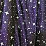兩穿式 星星 月亮 蝴蝶結 紗裙 長裙 洋裝(紫色)