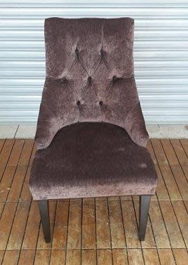 樂居二手家具 台中西屯二手傢俱買賣推薦 F0328AJJC 歐式布餐椅 書桌椅*2手桌椅 電腦椅 新莊樹林五股板橋龜山林