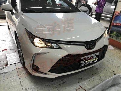 (小鳥的店)豐田 2019-2020 12代 ALTIS JHY V35 音響主機 安卓影音 導航 沿用原廠倒車 8核心