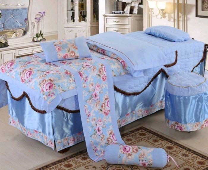 美容美體床罩四件組 新款 通用款式 QE525378388469