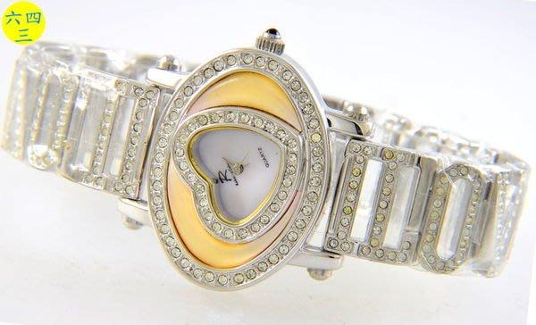 (六四三精品)ROBERTA(真品)超美滿天星.英文字型錶帶.時尚精準錶
