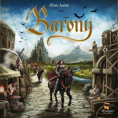 滿千免運 正版桌遊 Barony 騎士紋章 繁體中文版