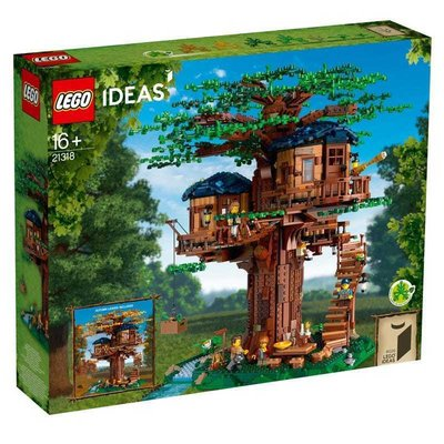 LEGO樂高21318樹屋高難度大人益智男女孩拼裝積木玩具IDEA系列#小江的店#