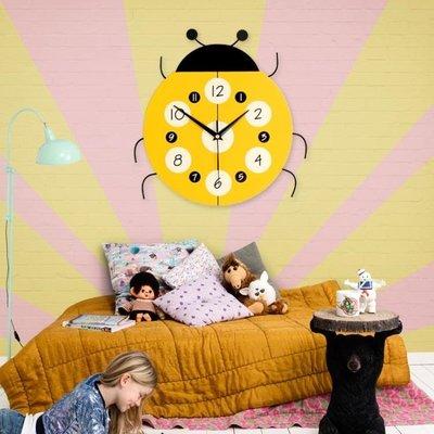 店長嚴選卡通式鐘錶客廳掛鐘現代簡約創意時尚靜音時鐘中式兒童臥室裝飾鐘