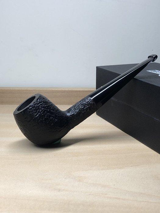 英國 Dunhill SHELL DPS5001/5101F 9mm濾芯 黑噴砂煙斗 0307020108