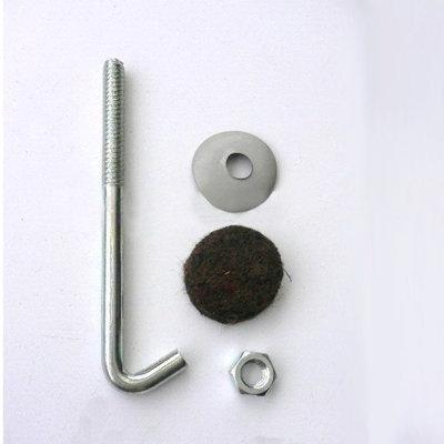 """現貨【joburly】2"""" 304材質 白鐵 不鏽鋼 石棉瓦勾釘 鉤釘 浪板 勾釘 鐵皮屋 鈎釘 一鈎釘 100支/包"""