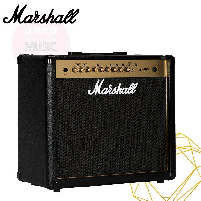 『凱恩音樂教室』免運分期 Marshall MG101GFX 電吉他音箱 效果音箱 英國知名大廠 公司貨
