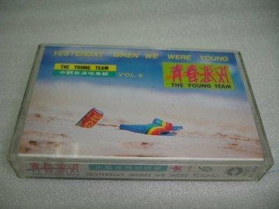 青春派對 中翻英演唱專輯 錄音帶 華興唱片發行