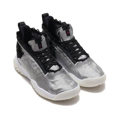 =CodE= NIKE JORDAN PROTO-REACT 3M反光魔鬼氈籃球鞋(銀黑) BV1654-002 AIR