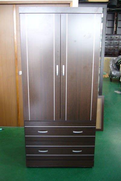 宏品二手家具 B101庫存幻影單人衣櫃 衣櫥 衣架 斗櫃