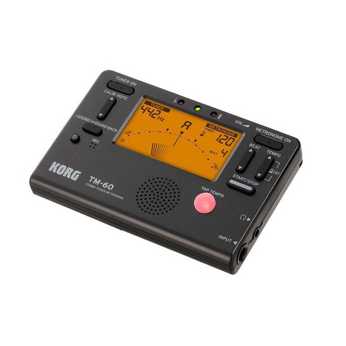 《小山烏克麗麗》 KORG TM-60 二合一調音器/節拍器 烏克麗麗 提琴 TM60 TM50 CM300