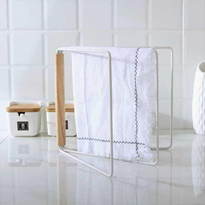 日系簡約白色可收合抹布收納架【 蘇菲亞精品傢飾】