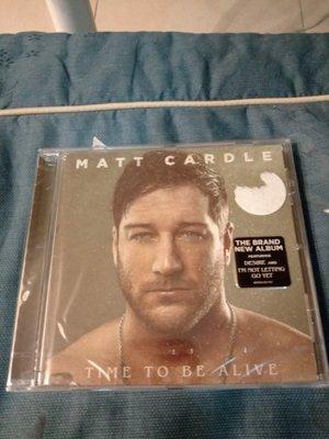 Matt Cardle 麥特卡爾德  Time To Be Alive 重獲新生  全新CD