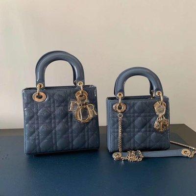 ♥️♥️❤️❤️Dior lady bag 三格 呢個色特別推介,呢個藍色非常易襯衫,加上唔會撞色,必推‼️‼️💲8️⃣5️⃣9️⃣9️⃣
