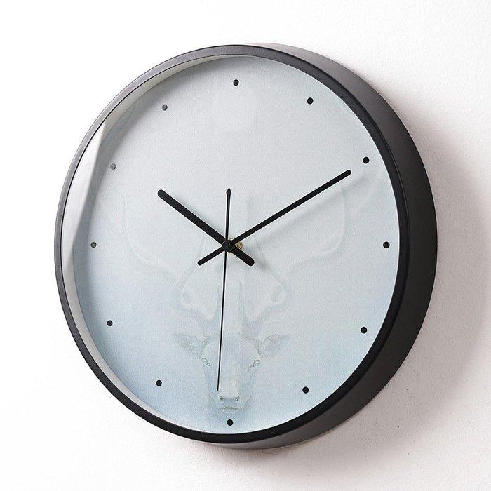 〖洋碼頭〗北歐創意掛鐘客廳時尚極簡鐘錶現代簡約裝飾藝術掛表家用大氣時鐘 xtm184