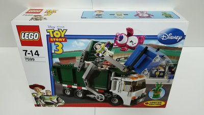 Lego 7599 Toy Story 3: Garbage Truck Getaway