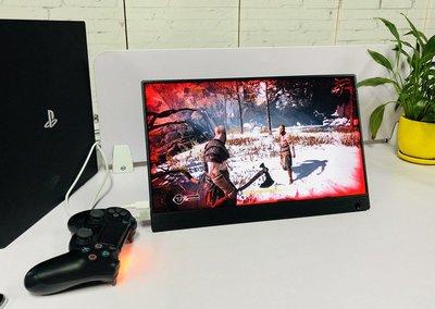 全新 15.6 15吋 4K HDR UHD 超高清 手提 電競遊戲機屏幕 Monitor 茫 e-Sport Screen Display- 可駁尿袋供電