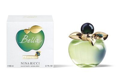 ◇MOLI 莫麗◇Nina Ricci Bella 貝拉甜心女性淡香水80ml※送蘋果甜心身體乳100ML22/3
