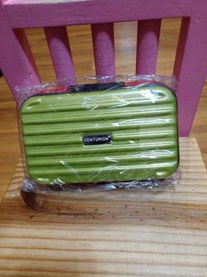 【CENTURION迷你行李箱化妝包-檸檬綠紅拉練$1199含郵】