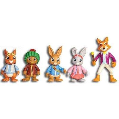 預購 英國彼得兔 Gund Peter Rabbit Tv Show 公仔組合 一組五支 玩具 禮盒 生日禮