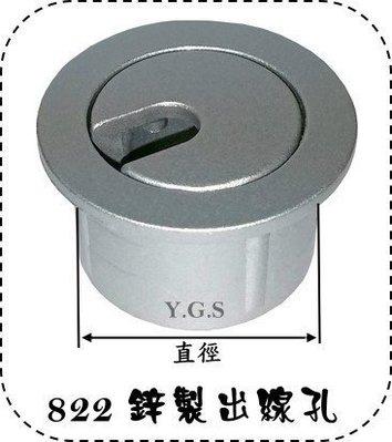 Y.G.S~家具五金系列~ 822-25mm出線孔(另有35mm) (含稅)