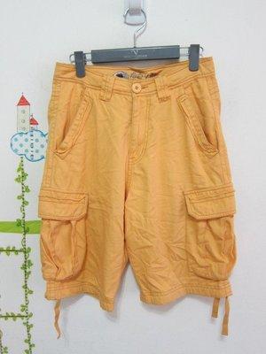衣市藍~BIG TRAIN OSAKA 休閒短褲 (S~) (190408)