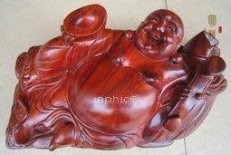 INPHIC-佛像 紅木工藝品 木雕擺飾 花梨木如意睡佛