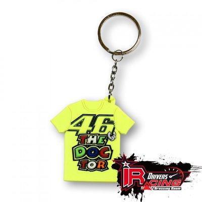 ♚賽車手的試衣間♚ VR46 Rossi T-shirt key holder 鑰匙圈