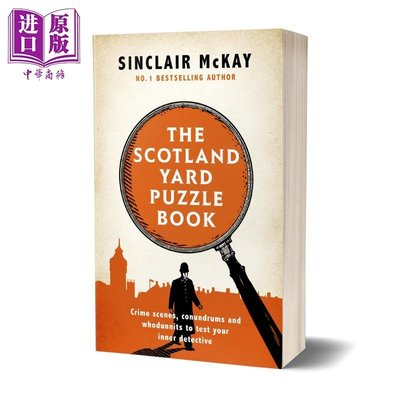 The Scotland Yard Puzzle Book 英文原版 辛克萊·麥凱:蘇格蘭場的謎題 Sinclair McKay
