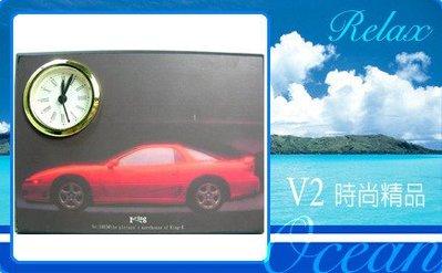 【V2 藝術精品館】** 精美 時尚 造型壓畫 座鐘 H** ~ 全新品,特惠價!~