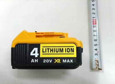 全新 通用 得偉 鋰電池 20V(18V) 4000mAh 有電量顯示 DCB200 DCB204 DCB205