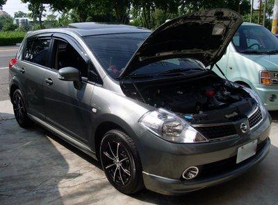 [晨達] NISSAN TIIDA 2007 專用款引擎蓋支撐桿 油壓桿 頂桿