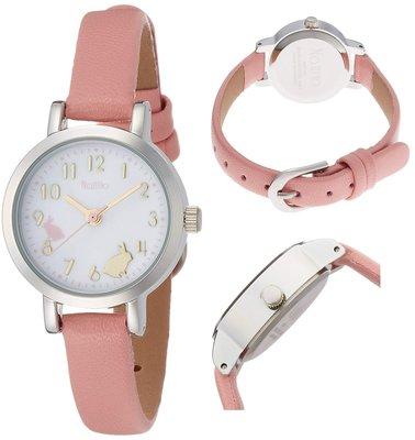 日本正版 Fieldwork nattito ASS108-3 兔子 腕錶 女錶 女用 手錶 粉紅色 日本代購