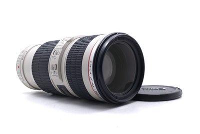 【台中青蘋果】Canon EF 70-200mm f4 L IS USM UX鏡 二手 鏡頭 公司貨 #58284