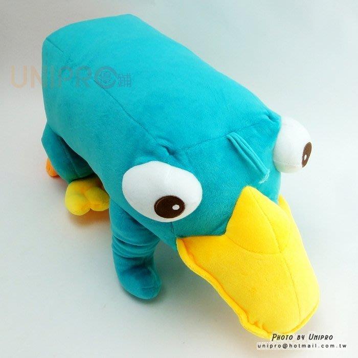 【UNIPRO】迪士尼 飛哥與小佛 鴨嘴獸 泰瑞鴨 站姿泰瑞 40公分 絨毛玩偶 絨毛娃娃 Perry