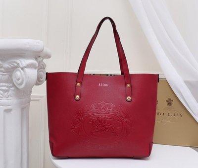 Alina精品代購Burberry 巴寶莉 英倫都會時尚 新學院風素雅手提包 顏色4 美國outlet代購