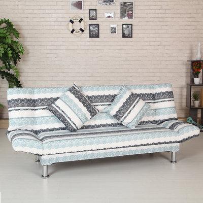 歐式沙發床可折疊客廳雙人沙發小戶型簡易多功能布藝沙發床懶人沙發床 【全館可開發票-愛購時尚館】