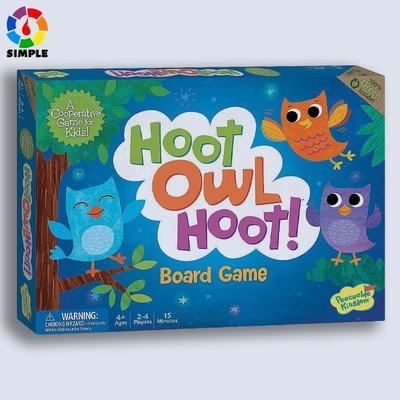 #現貨#秒出  貓頭鷹回家 Hoot Owl Hoot!英文版~DKP54519
