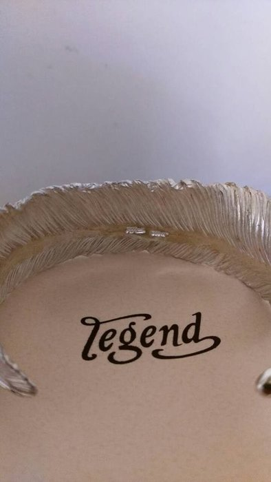 【SILVER HEARTS】Legend 日本雕金大師 吉原直Goro s 高橋吾郎 羽毛手環 925 純銀