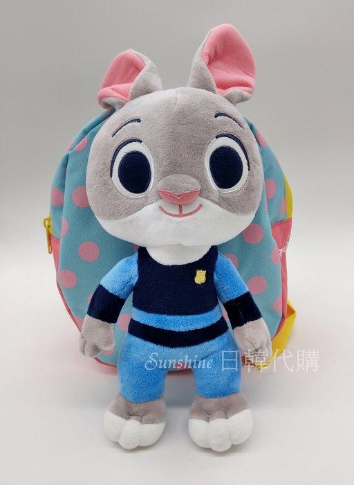 現貨 韓國正品 WingHouse 迪士尼 哈茱蒂 動物方城市 防走失包 兒童背包 Wing House