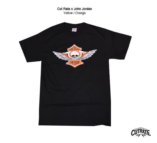 GOODFORIT / Cutrate x John Jordan聯名重機短袖上衣