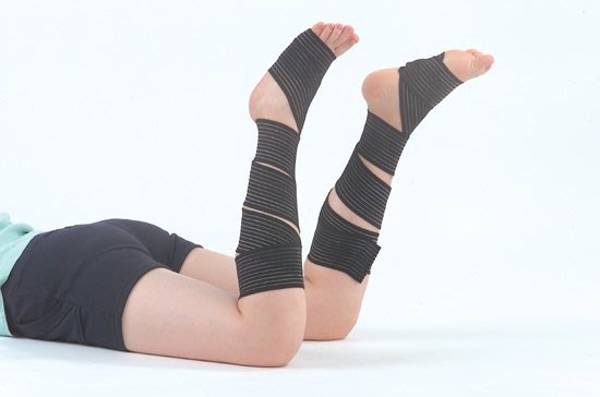 纏繞式美手美腿保健帶