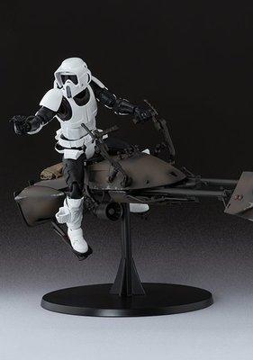 Bandai SHF SHFiguarts Star Wars 星球大戰 星際大戰 Scout Trooper & Speeder Bike 魂限