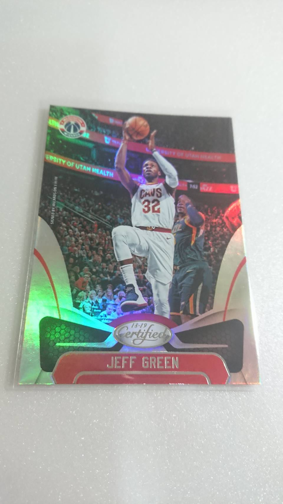 明星球員JEFF GREEN漂亮一張~15元起標