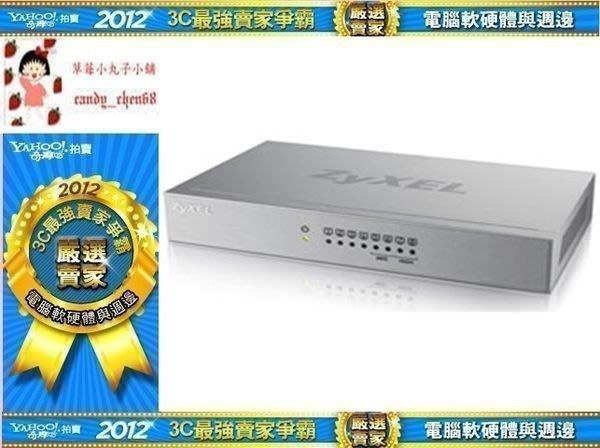 【35年連鎖老店】ZyXEL合勤8埠無網管型交換器 GS-108B v3有發票/可全家/3年保固