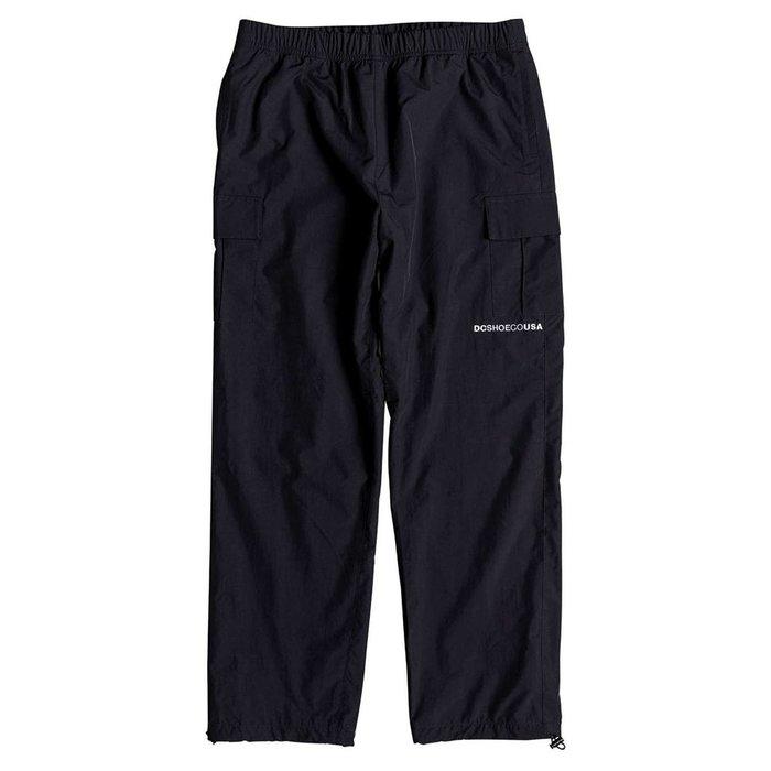 [CABAS滑板店] DC RELEVANT PANTS 黑   風褲 運動  3D反光