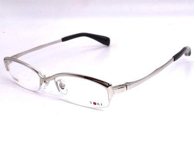 【本閣】增永眼鏡 masunaga/TOKI TK5002 日本手工眼鏡 純鈦 金屬框 彈性 999.9 masaki