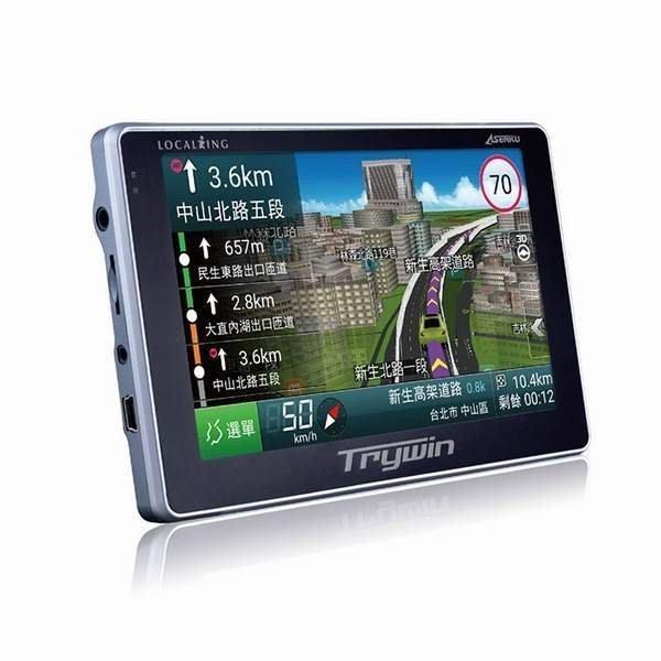 * 免運  GPS  Trywin DTN X688 即時路況3D5吋 衛星導航機